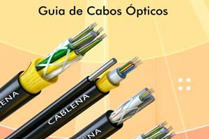 Segmentos de cabos ópticos