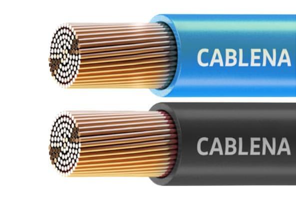 Segmento de cabo de energia